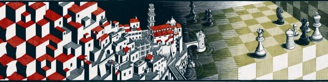 Il meraviglioso mondo di escher pensieri lib e ri for Escher metamorfosi