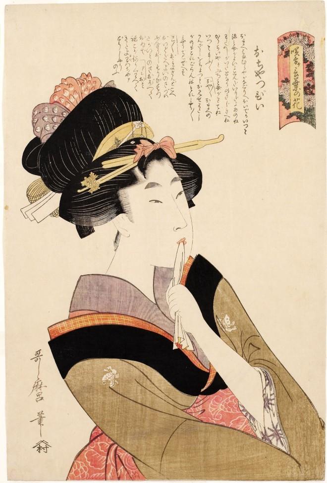 Kitagawa-Utamaro-La-ragazza-precoce-Ochappii-dalla-serie-Varietà-di-fiori-secondo-il-loro-linguaggio-1802-Honolulu-Museum-of-Art-1.jpg
